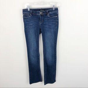White House Black Market Boot Leg Jeans Low Rise 0